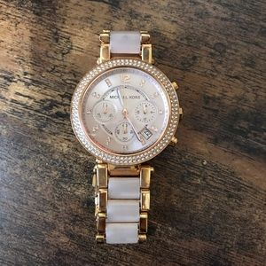 Michael Kors Women's Parker Rose Gold-Tone
